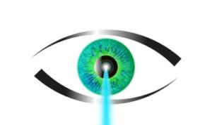 Die Augen lasern in Berlin.